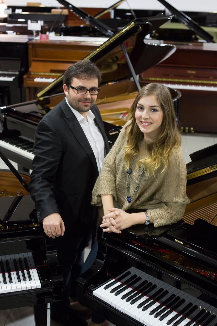 Concierto de Navidad con Manuel Tévar y Laura Sierra, Iberian & Klavier