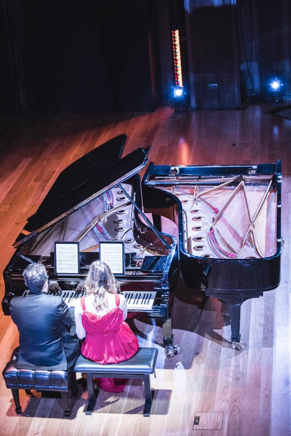 MASTERCLASS DE PIANO CON MANUEL TÉVAR  Y LAURA SIERRA