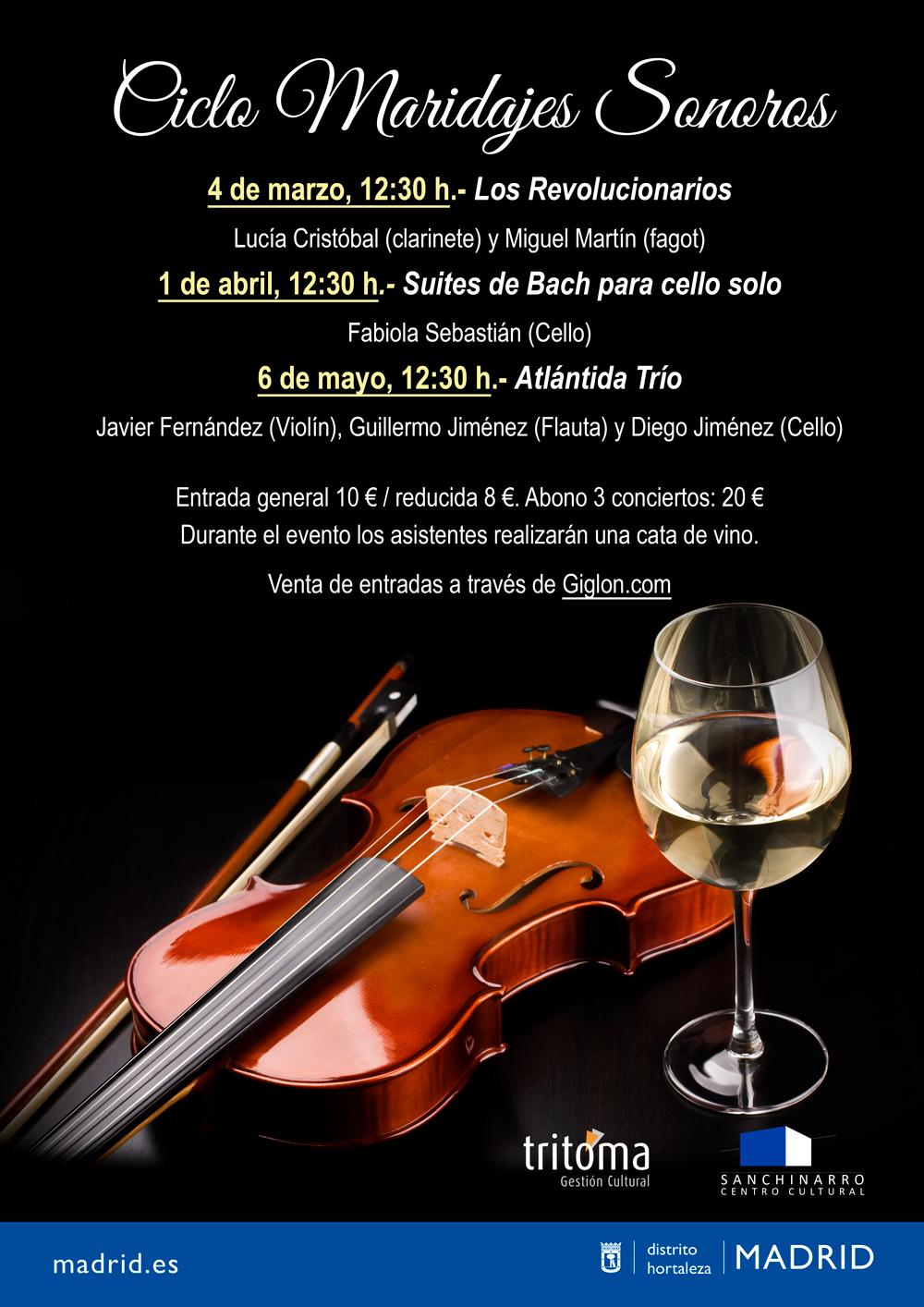 Suites de Bach para cello solo Fabiola Sebastián