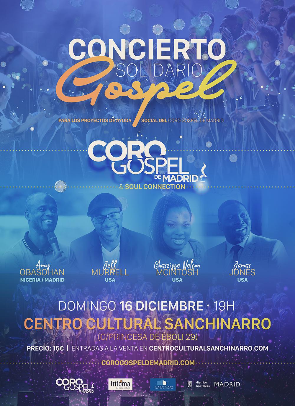 Coro Gospel de Madrid:  60 voces más banda