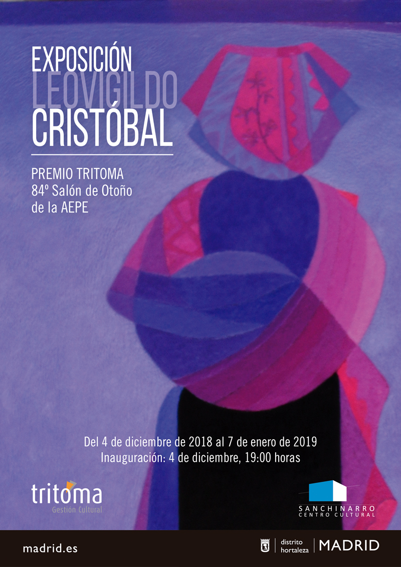 Leovigildo Cristóbal - Premio Tritoma en el 84 Salón de primavera de la AEPE