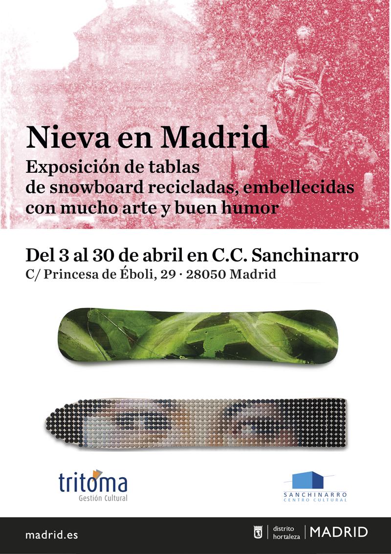 Exposición  NIEVA EN MADRID