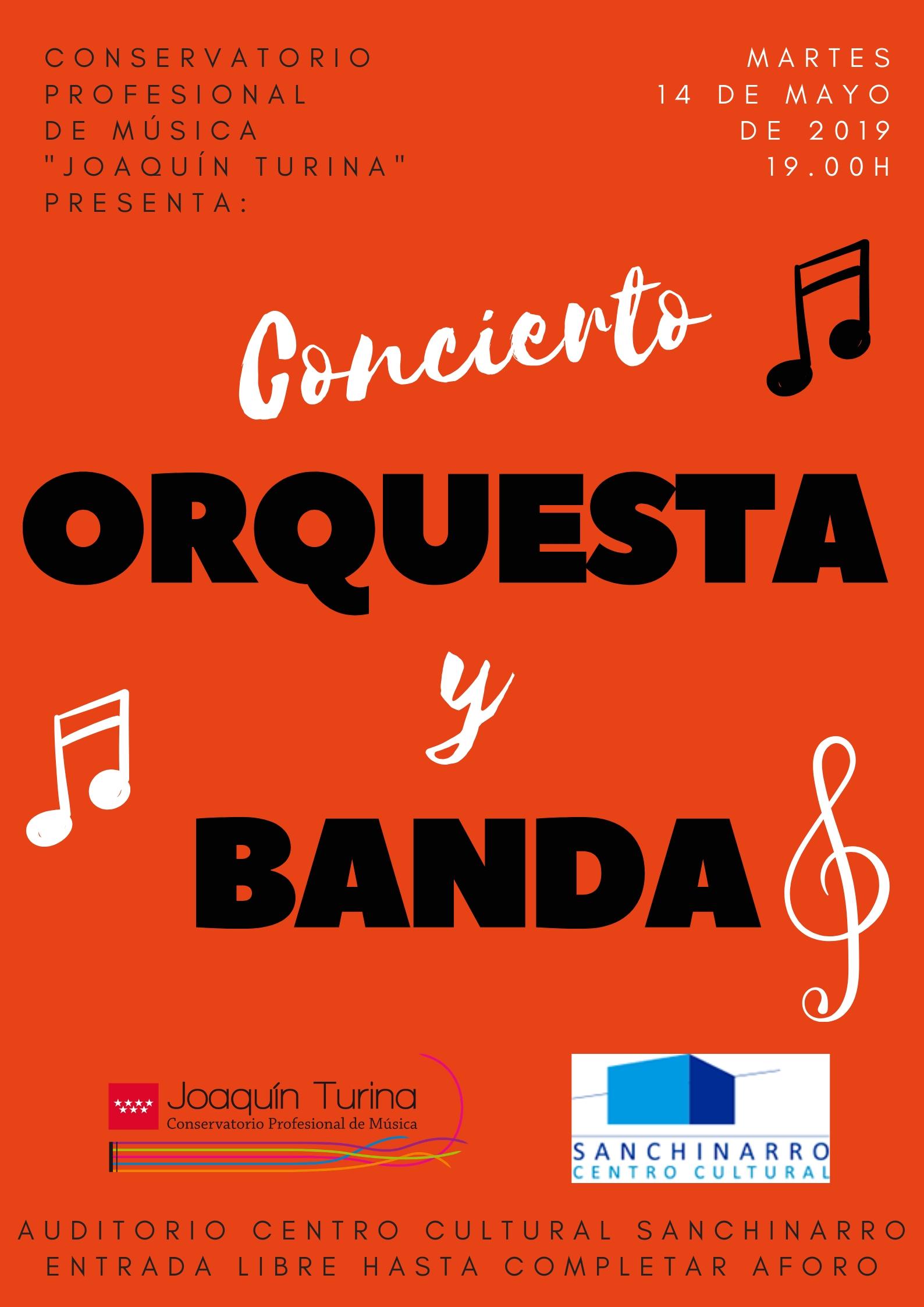 Orquesta y banda. Conservatorio Joaquín Turina