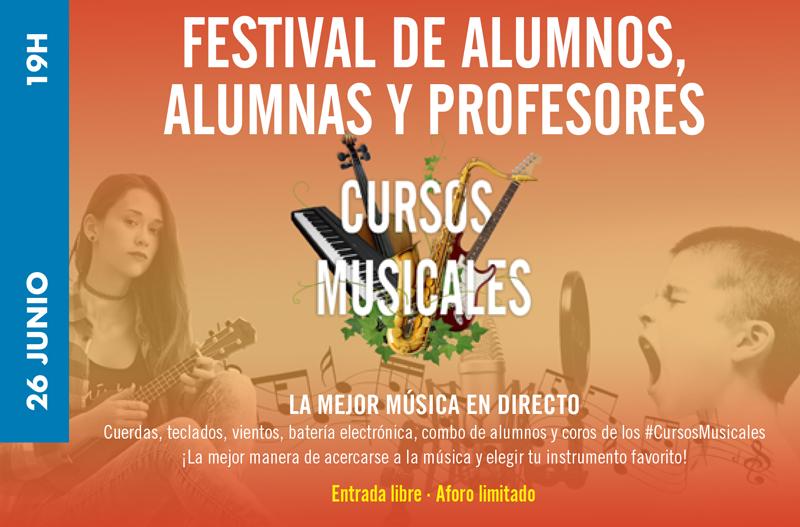 Festival alumnos, alumnas y profesores de los Cursos Musicales