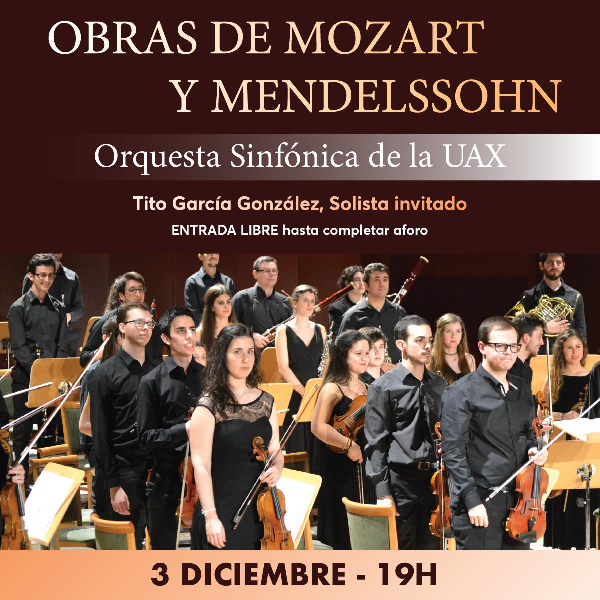 OBRAS DE MOZART Y MENDELSSOHN