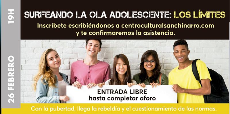 SURFEANDO LA OLA ADOLESCENTE: LOS LÍMITES